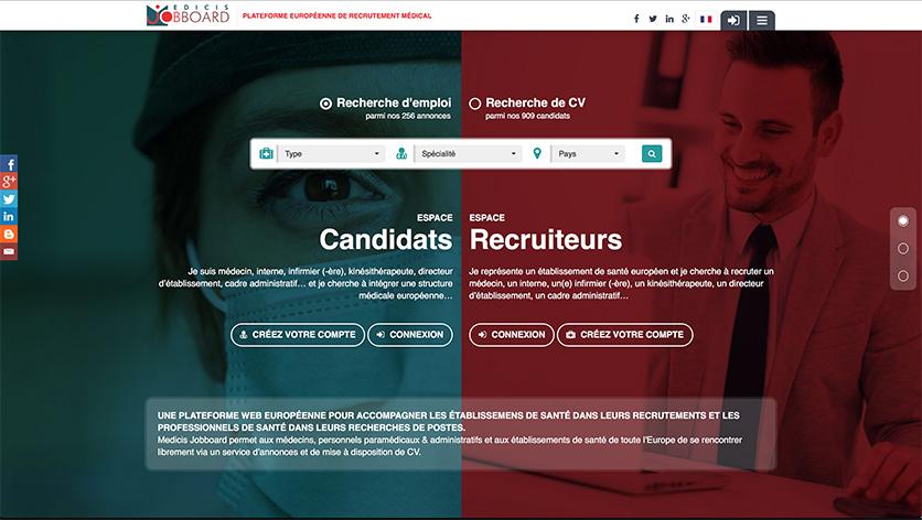 Medicis Jobboard - Recrutement de médecins en Europe